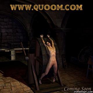 Bdsm comics. Slim girl suffering in dark basement!