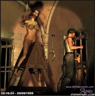 Free bdsm comics. Cruel mistress tortures her slave girl!