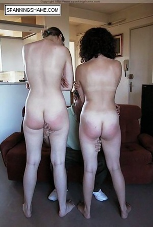 Two young beauties get their sexy butts  - XXX Dessert - Picture 6