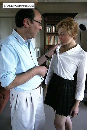Burnning buttcoks blonde school girl suf - XXX Dessert - Picture 3