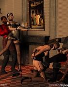 Bdsm comics. Blode slave girl forsed t oremove her panties!