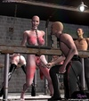 Slave art. Bald slave girls are living in the…