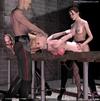Bondage cartoons. Mistress and her servant fuck…