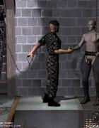 Sado comic. Militaru guys delivered new slaves in…