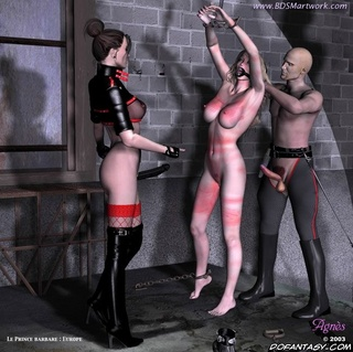 Slave girl. New blond slave submitted to her Mistress!