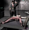 Bondage comics. Her Mistress pleases her horny pussy by strapon!