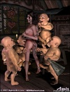 Slave art. Cruel gnome humiliate Snow White in all…