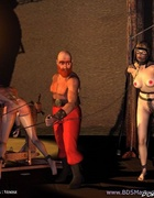 Slave comics. Slave girl dressed and sent upstairs!