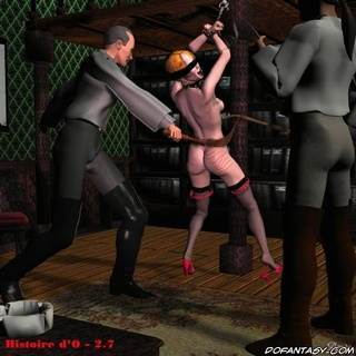 Free bdsm comics. Blonde slave girl submitted to her Master!