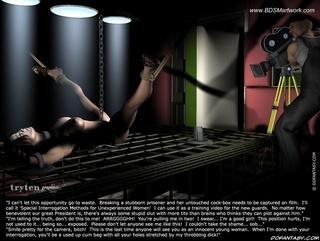 Slave girl comics. He cut her panties off!