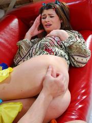 Unfortunate maid gets her tight teen booty ravaged - XXXonXXX - Pic 9