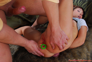 Teen girl with a thing for anal beads gets roughly throated and ass-fucked - XXXonXXX - Pic 12