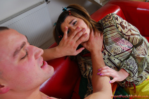 Unfortunate maid gets her tight teen booty ravaged for a can of beer - XXXonXXX - Pic 7