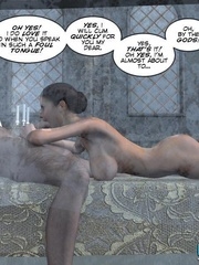 Young busty babe forced to give a head to - Cartoon Sex - Picture 15