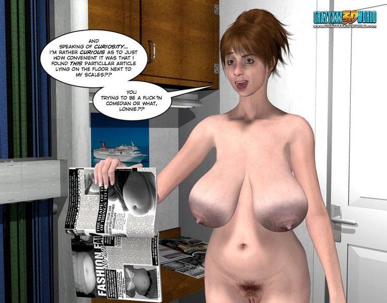 Amazing pics of 3d girlfriends getting naked - Cartoon Sex - Picture 8