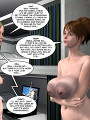 Amazing pics of 3d girlfriends getting naked - Cartoon Sex - Picture 11