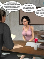 Young 3d lusty nymph seduced investigator and - Cartoon Sex - Picture 9
