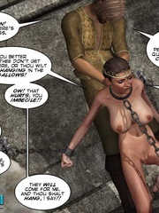 Chained captured 3d princess gets facialized - Cartoon Sex - Picture 6