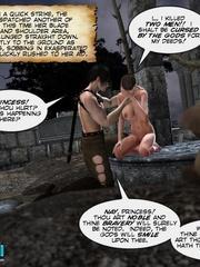 Busty 3d stunner wanna taste hot cum in her - Cartoon Sex - Picture 8