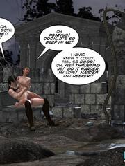 Busty 3d stunner wanna taste hot cum in her - Cartoon Sex - Picture 12
