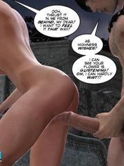 Busty 3d stunner wanna taste hot cum in her - Cartoon Sex - Picture 13