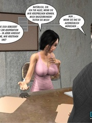 Sexy shaped 3d chick gets fucked hard by - Cartoon Sex - Picture 11