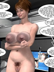 Two lusty 3d chicks slowly stripteasing while - Cartoon Sex - Picture 16
