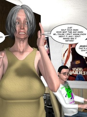Blonde nasty 3d girlfriend undressing on - Cartoon Sex - Picture 11