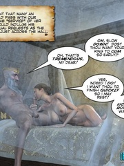 Perfect body young princess forced to please - Cartoon Sex - Picture 14