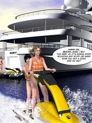 Horny 3d couple found some private place to - Cartoon Sex - Picture 11