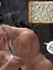 Big boobed 3d princess and her lover making - Cartoon Sex - Picture 2