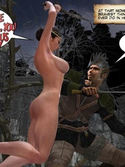 Big boobed 3d princess and her lover making - Cartoon Sex - Picture 7