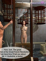 Busty 3d bimbo gets banged hard in medieval - Cartoon Sex - Picture 11