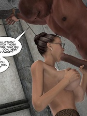 Captured black guy gets his huge meat pleased - Cartoon Sex - Picture 9