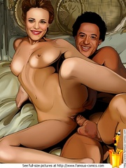 Sherlock Holmes seduced stunning toon beauty - Cartoon Sex - Picture 2