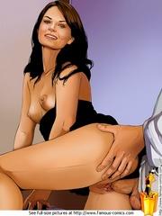 Cartoon sex starving star Jennifer Morrison - Cartoon Sex - Picture 3