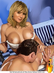 Sex hungry milfs from Sex and the City - Cartoon Sex - Picture 3