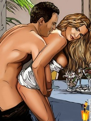Ten Yards cartoon couple found private place - Cartoon Sex - Picture 2