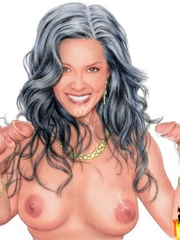 Stunning cartton celebrities willingly - Cartoon Sex - Picture 1
