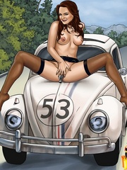Hot cartoon movie stars get their tight - Cartoon Sex - Picture 7