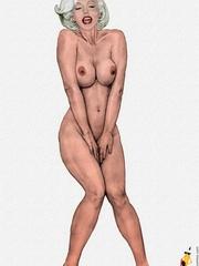 Stunning cartoon celebrities willingly - Cartoon Sex - Picture 7