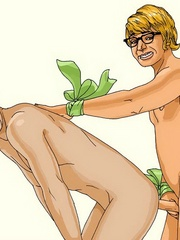 Toon star Austin Powers gets his ass hole - Cartoon Sex - Picture 3