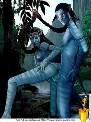 Hot xxx Avatar pics of nasty Navi people - Cartoon Sex - Picture 2