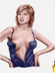 Awesome xxx cartoon celebs wanna you watch - Cartoon Sex - Picture 4