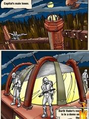 Xxx Star Wars cartoon pics of lusty princess - Cartoon Sex - Picture 1