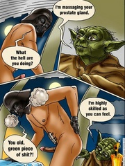 Xxx Star Wars cartoon pics of lusty princess - Cartoon Sex - Picture 7