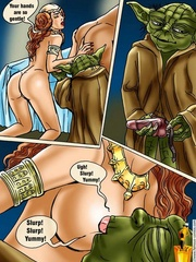 Xxx Star Wars cartoon pics of lusty princess - Cartoon Sex - Picture 12