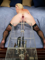 She gets the hottest orgasms ever with this - Unique Bondage - Pic 2