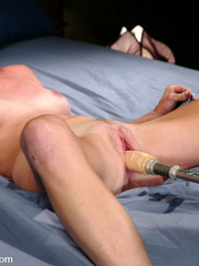 She gets the hottest orgasms ever with this - Unique Bondage - Pic 6
