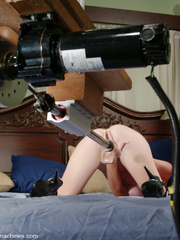 She gets the hottest orgasms ever with this - Unique Bondage - Pic 8